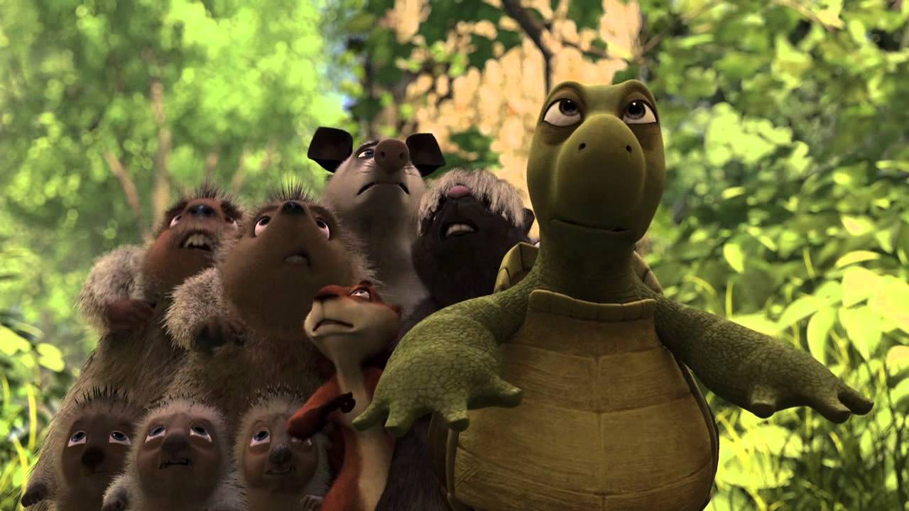 Over The Hedge HD 720p Hebrew - YouTube