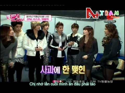 vietsub E channel 4Minute&39;s Mr Teacher - MBLAQ Cut