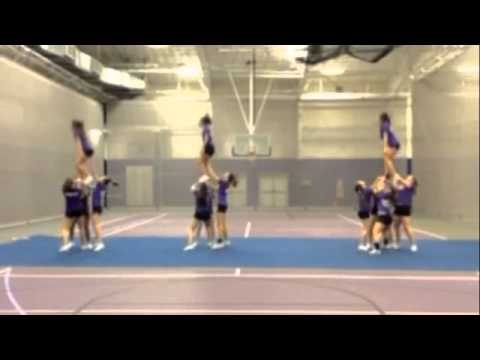 Stonehill College Cheerleading Fall 2013