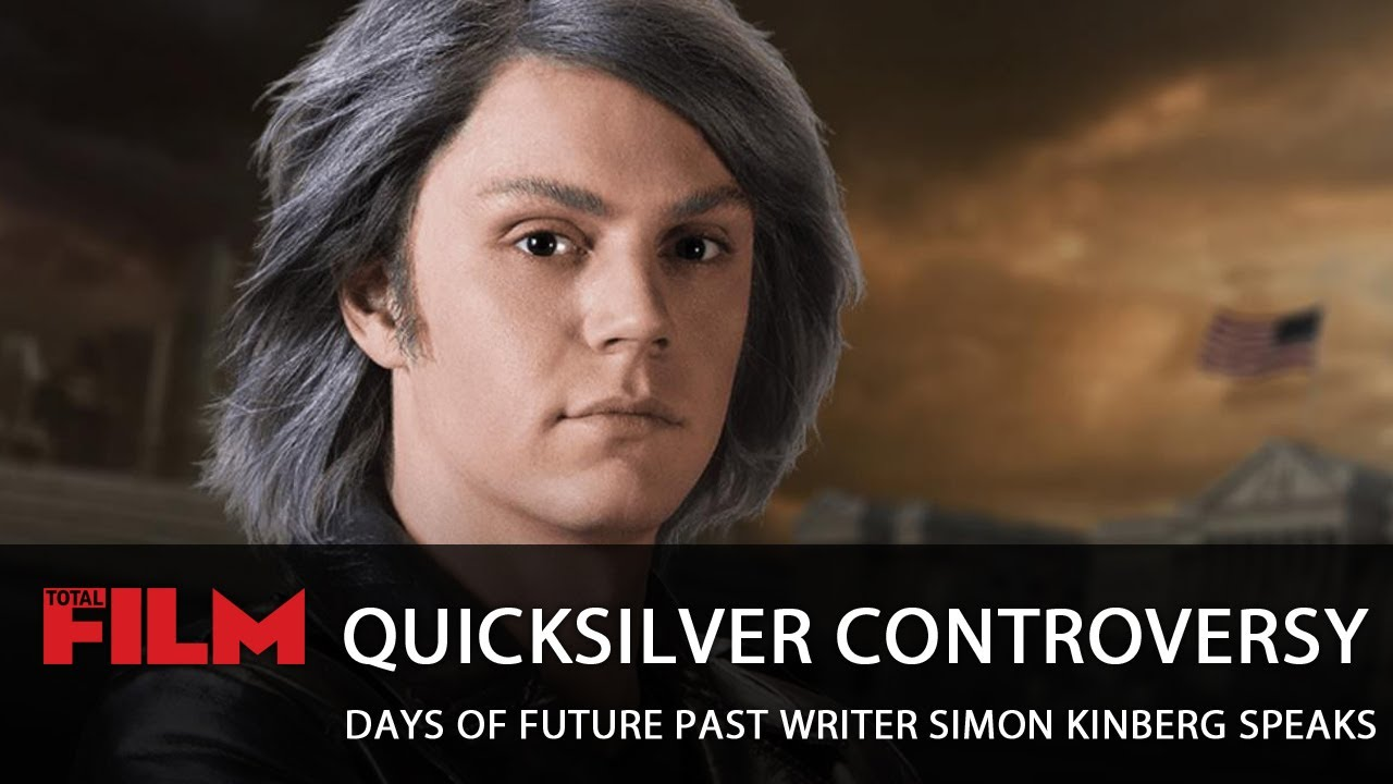Quicksilver and scarlet witch days of future past photo