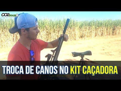 Troca de canos e kit airbow na kit PCP Caçadora Ep. 4
