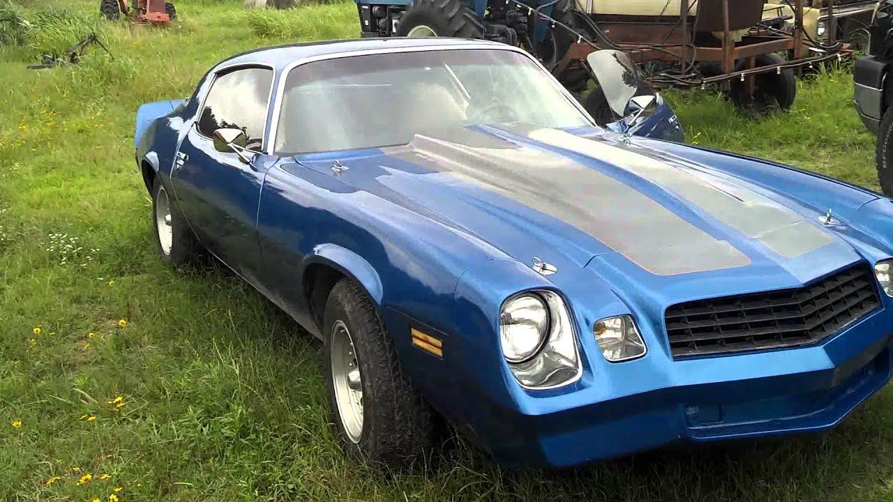 1978 Camaro project 'Blue Devil' - YouTube