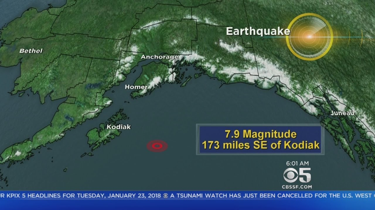 Tsunami fears over after Alaska quake: What we know now