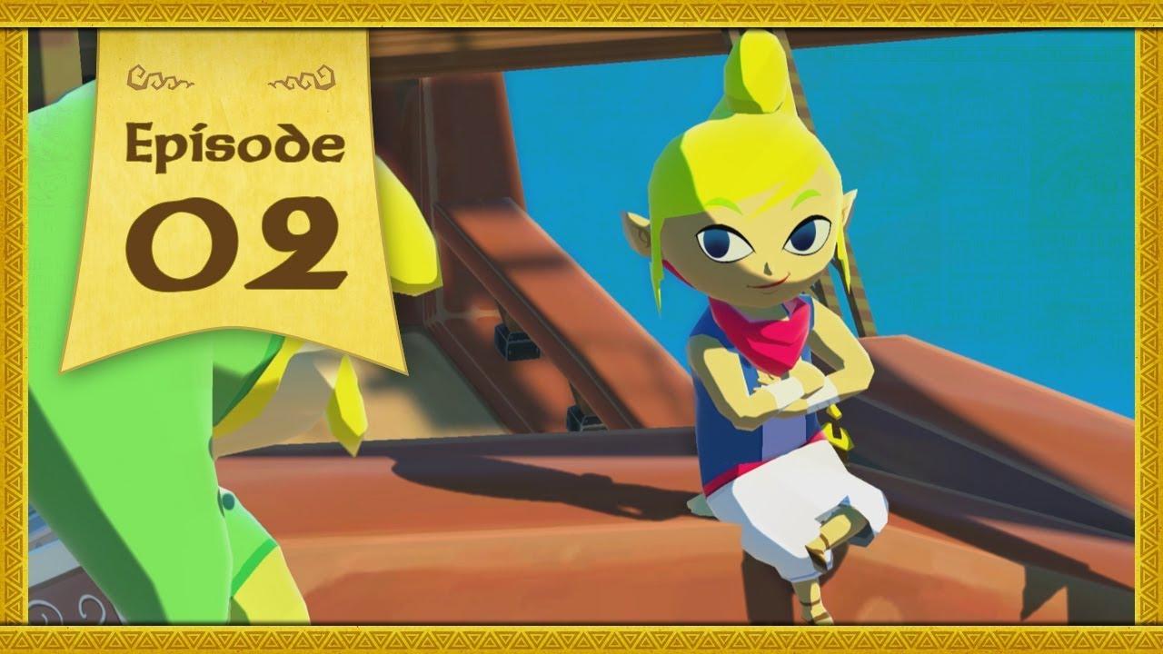 The Legend Of Zelda The Wind Waker Hd 02 Le Bateau Pirate Youtube