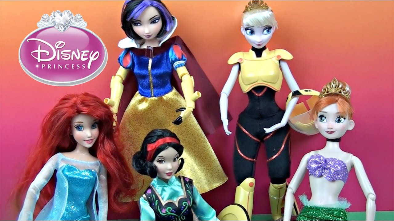 Dress up princess doll - Disney Princess Dolls Dress Up