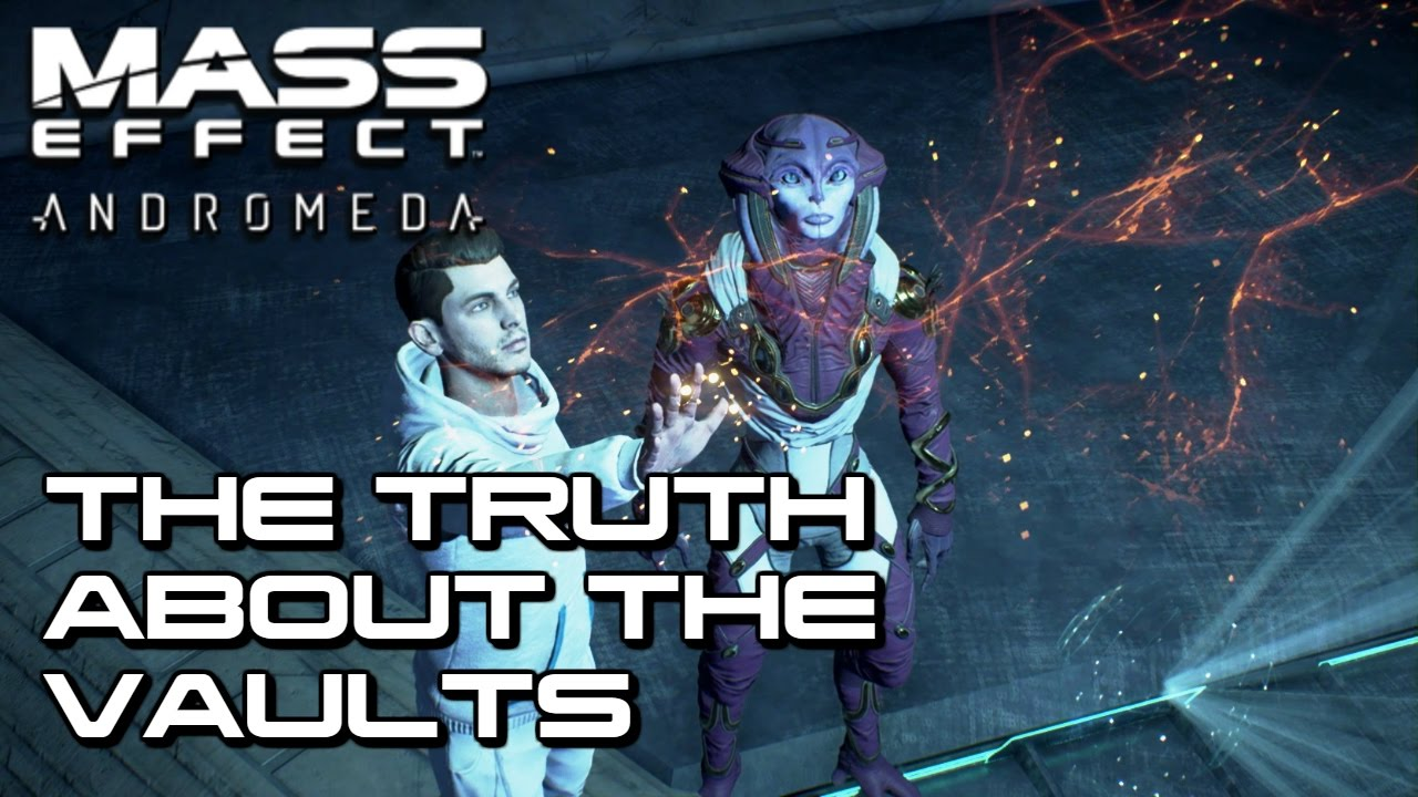 X5 Ghost Mass Effect Andromeda: The Truth About The Vaults
