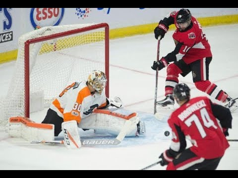 Game 10-Scorowiecki-Ottawa Senators vs Philadelphia Flyers 2017-18