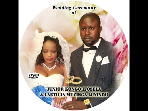 Wedding Ceremony Of Junior Kongo Ifosela & Laeticia Muzinga Luyindu