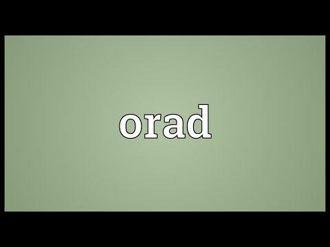 Header of orad
