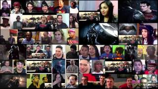 Batman vs Superman Trailer 2 Reaction Mashup (part 2