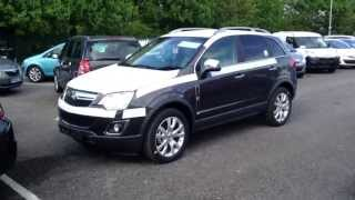 2013 Vauxhall Antara Start Up, Exhaust, and In Depth Tour .