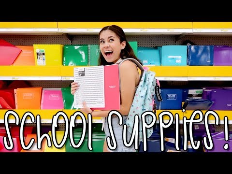 Thumbnail: Back to School with Jazzy!! + Supply Haul | Jazzy Anne
