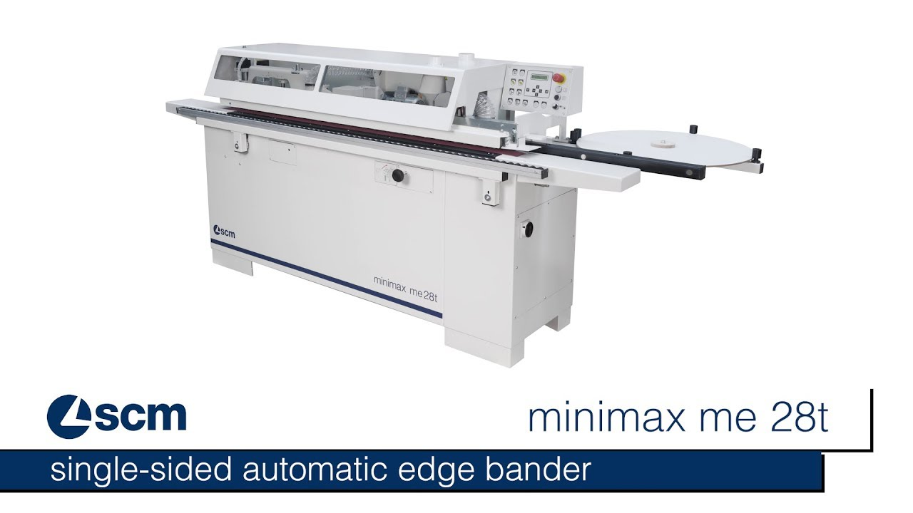 Single sided automatic edge bander SCM minimax me 28t