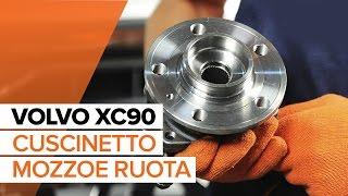 Come sostituire cuscinetto mozzo ruota posteriore su VOLVO XC90 1 [TUTORIAL]