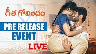 Geetha govindam pre release event live. #geethagovindam starring #vijaydeverakonda & rashmika mandanna , directed by parasuram, music gopi sunder. produce...