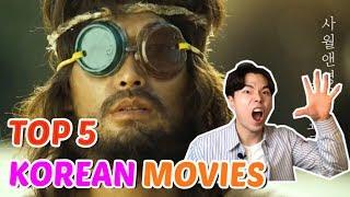 TOP 5 BEST KOREAN MOVIES for learning korean language