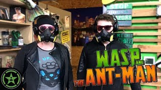Achievement Hunter: Wasp and the Ant-Man - Official Trailer (Parody)