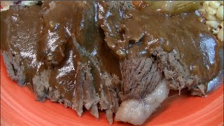 Classic Slow Cooked Pot Roast Recipe ~ Noreen