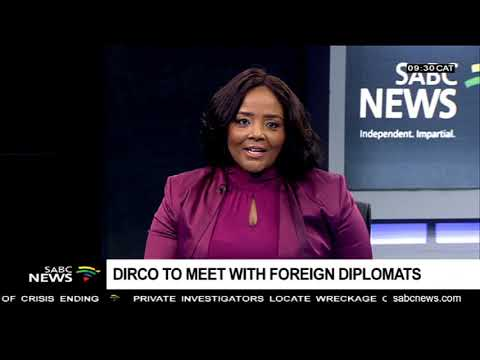 Dirco to meet with foreign diplomats