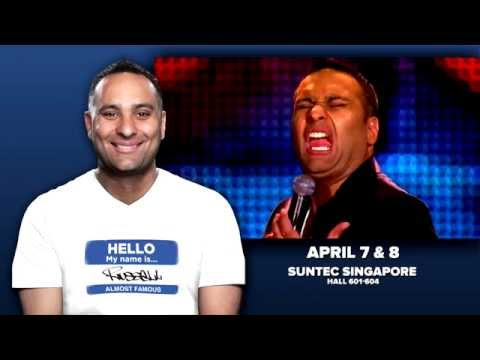 Russell Peters - Almost Famous World Tour - Live In Singapore - TVC