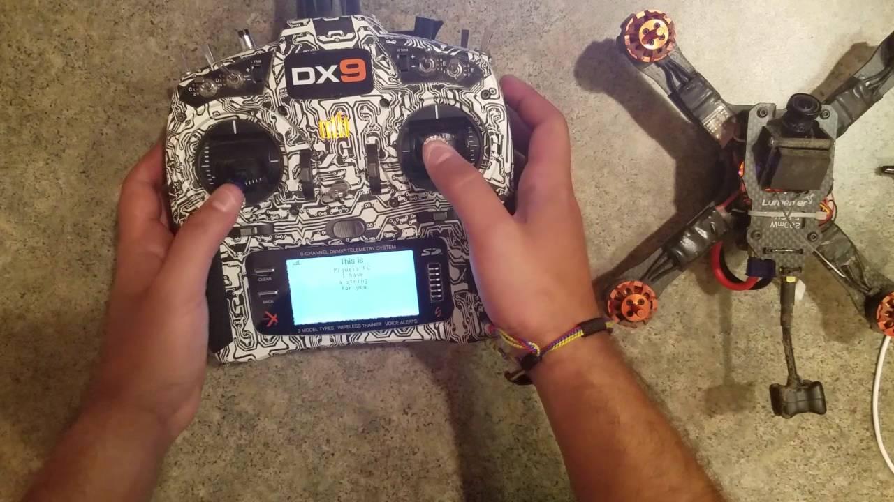 Spektrum DSMX Quad Race Receiver with Telemetry SPM4649T