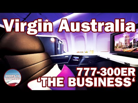Virgin Australia Business Class AWESOME SERVICE On A 777-300ER | December 2018