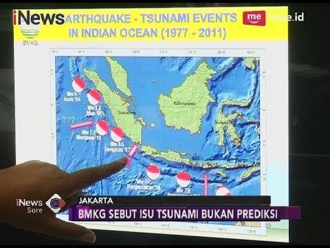 BMKG Konfirmasi Isu Tsunami Bukan Prediksi dan Perlu Divalidasi - iNews Sore 05/04