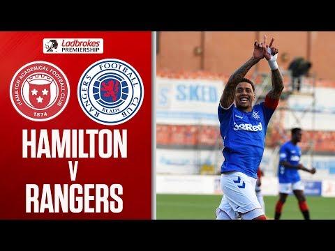 Hamilton 1-4 Rangers | Tavernier Brace As Rangers Score Four! | Ladbrokes Premiership