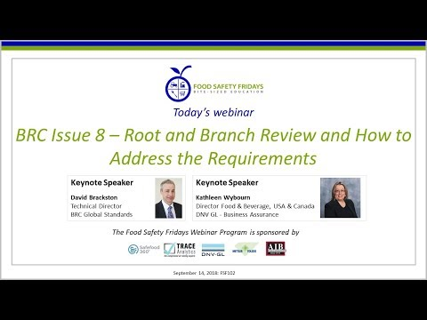BRC Issue 8 – Root And Branch Review And How To Address The Requirements