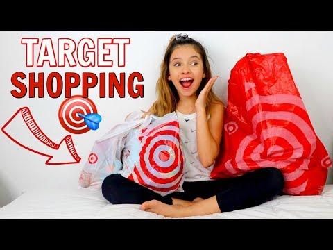 Target Shopping no budget Challenge   Shopping vlog 🎯