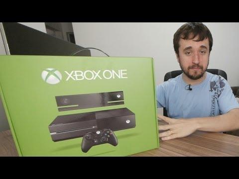 Xbox One - Tirando da Caixa: É Maior que o PS4? (Unboxing)