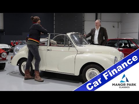 Fuzz Townshend & Kurt Bradbury Discuss Car Finance At Manor Park Classics