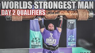 Worlds Strongest Man 2020 | Qualifiers Day 2