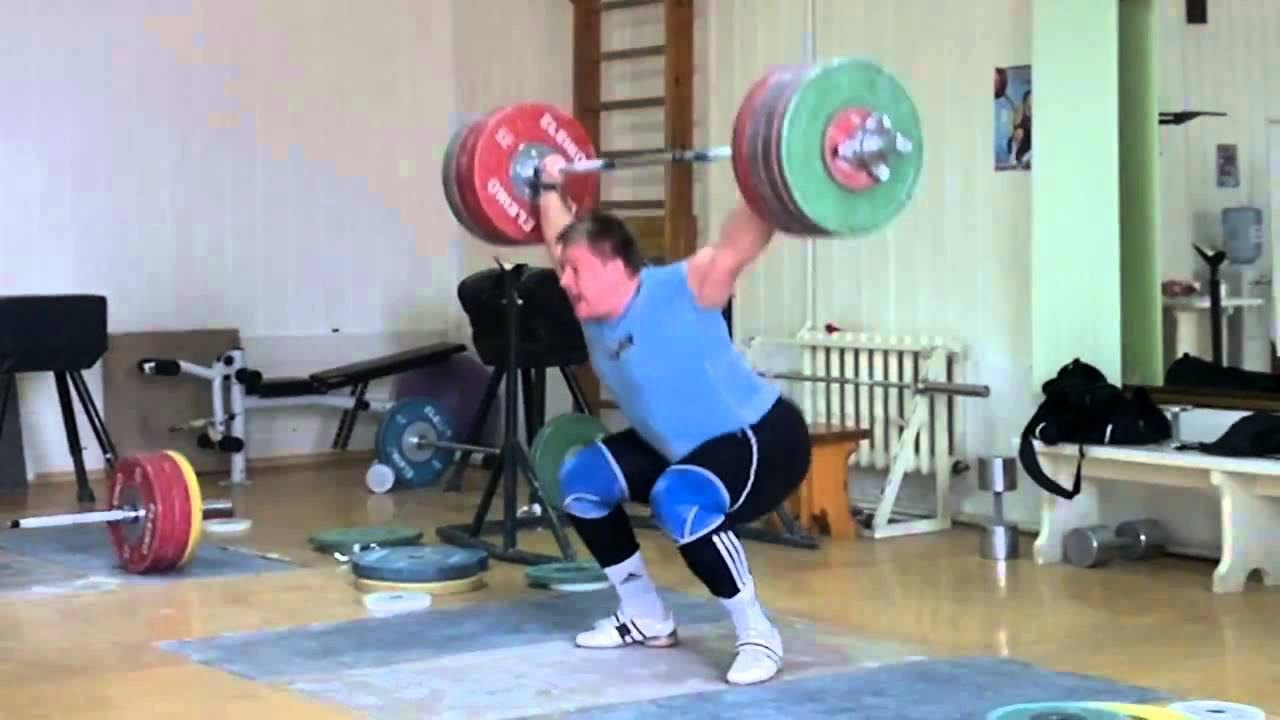 Dmitry Lapikov - Snatch 200 kg x 2 - YouTube