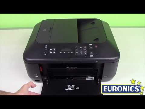 canon pixma mx 420 printer part 3 scaning in a photo or ...