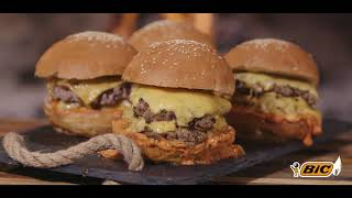 THE SMASH BURGER: BE THE HERO BEHIND THE BRAAI WITH BIC thumbnail