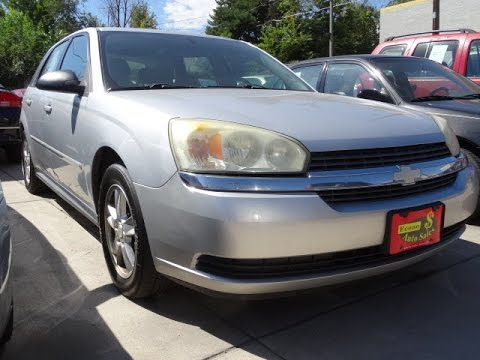 2005 Chevy Malibu Maxx - Bad Credit Car Loans - Buy Here Pay Here