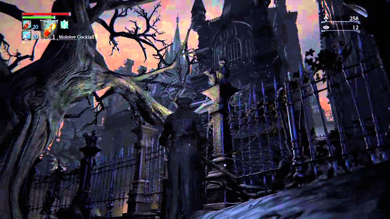 bloodborne cathedral ward portal youtube