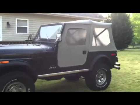 Cj7 304 Side Pipes Youtube