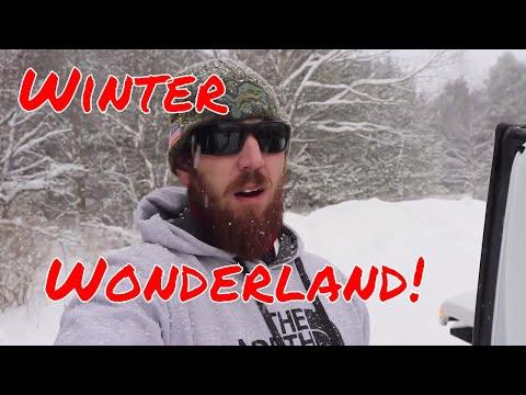 Northern Michigan Winter Wonderland Adventure!