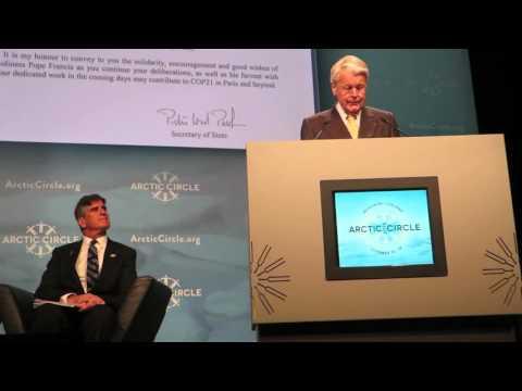 President Grímsson shares Pope's message at Reykjavik