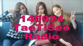 Video 140924 SNSD TaeTiSeo Radio download MP3, 3GP, MP4, WEBM, AVI, FLV Oktober 2018