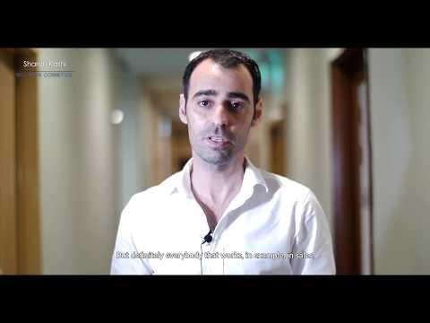 Aviram - Testimonial on Sharon's cosmetic sales seminar