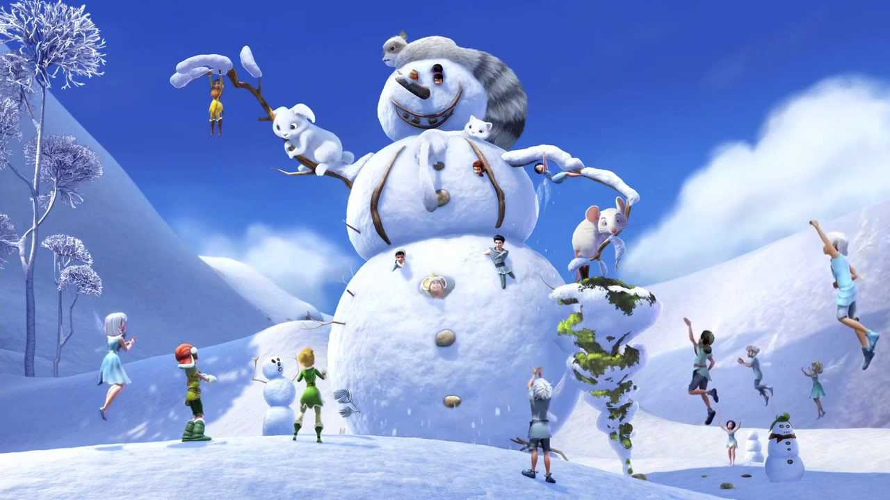 Secret of the wings how to build a snowman youtube for How to make a snowman