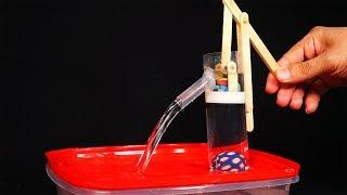 Incrível Brinquedo de Bombear Água feito em casa