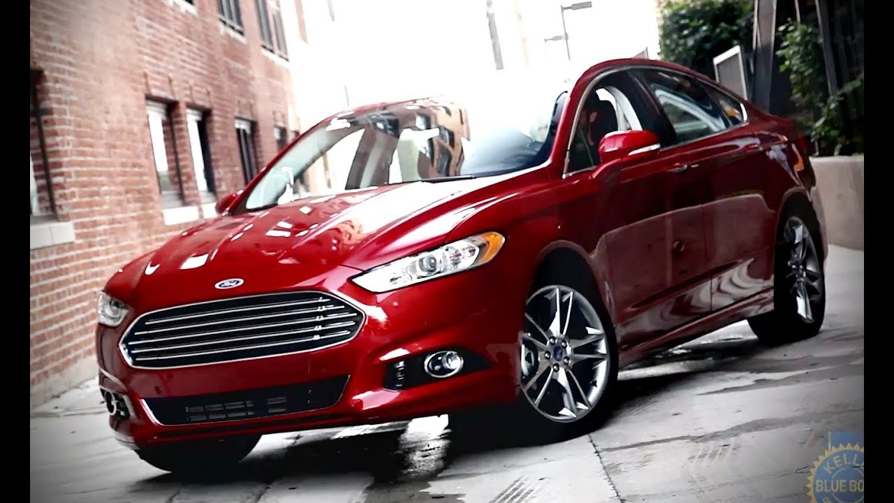2015 Ford Fusion Review And Road Test Youtube