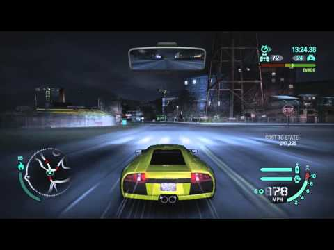 NEED FOR SPEED CARBON 3 POPPED TIRE ESCAPE MIRACLE 5 STARS
