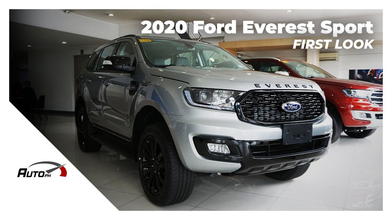 2020 Ford Everest Sport - First Look (Philippines)