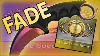 CS:GO KARAMBIT FADE UNBOX CRAZY REACTION thumbnail