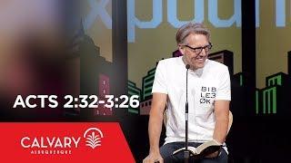 Video Acts 2:32-3:26 - Skip Heitzig download MP3, 3GP, MP4, WEBM, AVI, FLV November 2017